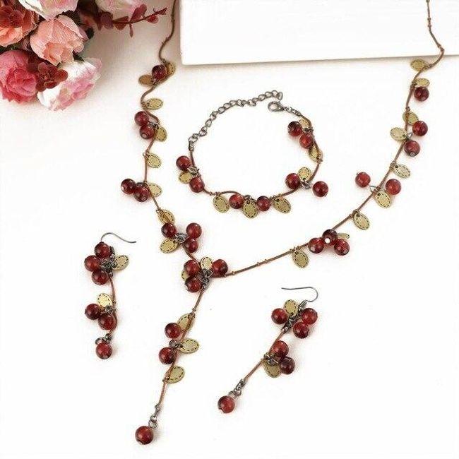 Komplet biżuterii damskiej DSS4578 1