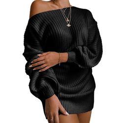 Ženska pletena haljina od vune EA_650742736253