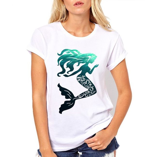 Damska koszulka Rosa 1