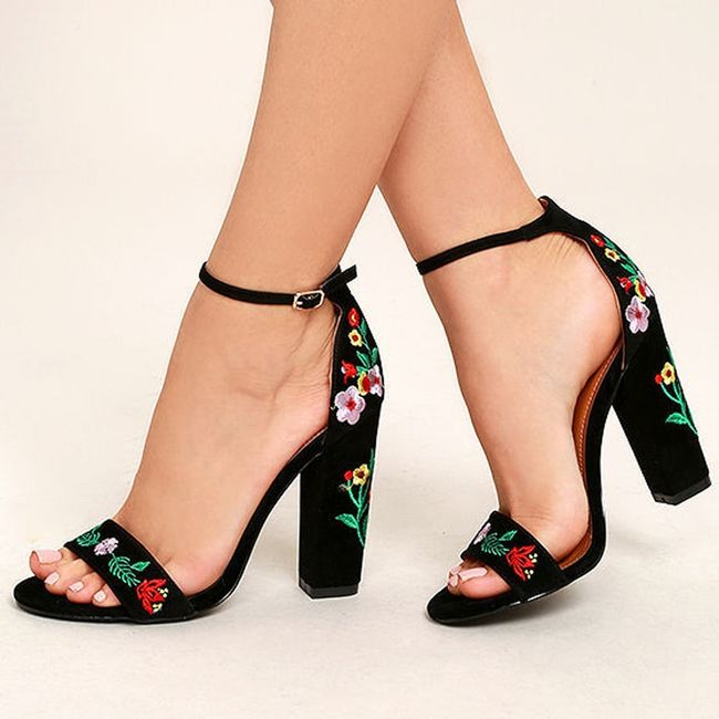 Dámské boty na podpatku TF6847 1