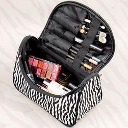 Kozmetička torbica u boji zebre