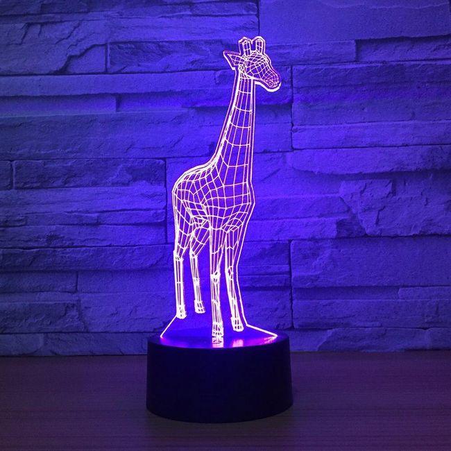 3D LED lampa Josefa 1