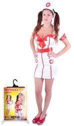Karnevalový kostým pro dospělé slečna zdravotnice (M) RZ_101272