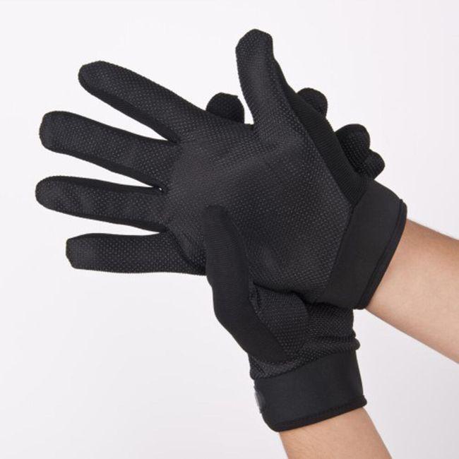 Protiskluzové rukavice 1