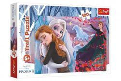 Puzzle Navždy spolu Ľadové kráľovstvo II / Frozen II 100 dielov 41x27,5cm v krabici 29x19x4cm RM_89016399
