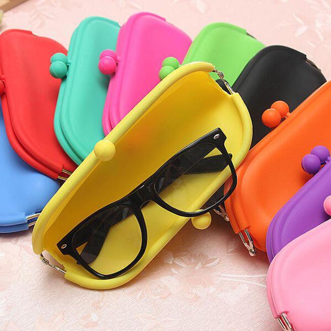 Силиконов калъф за очила - повече цветове 1