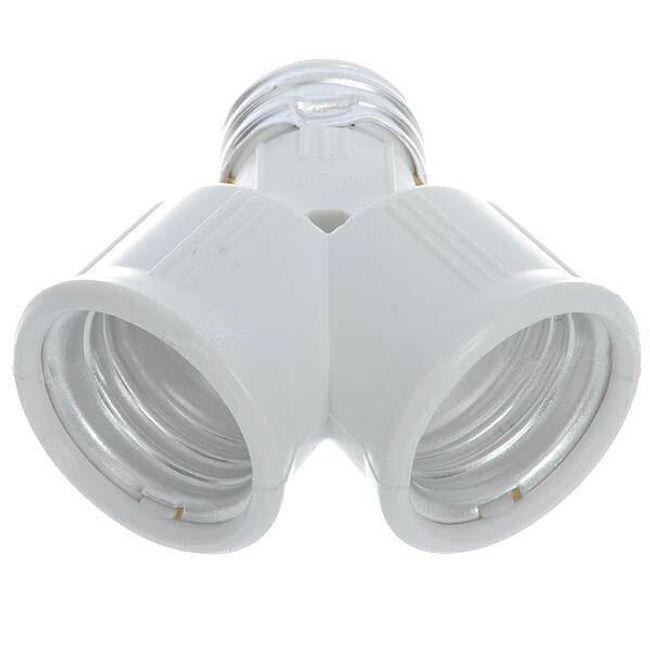 Двойник для ламп с цоколем E27 1