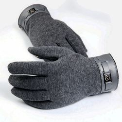 Rękawice męskie do ekranu dotykowego - 3 kolory