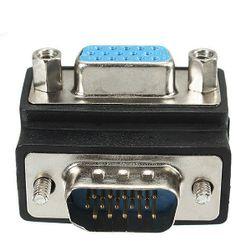 90° VGA adapter (muški/ženski)