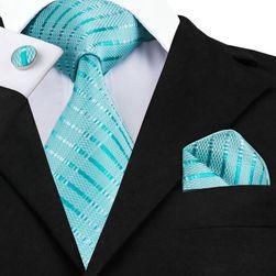Cravata cu batista si butoni pentru barbati