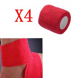 Medicinski zavoj - crveni (4 kom)