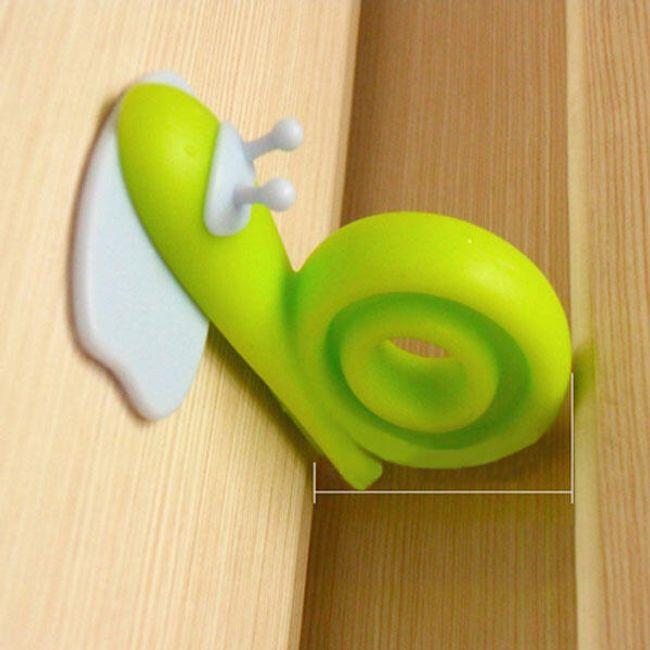 2 ks ochranných zarážek do dveří - šnečci 1