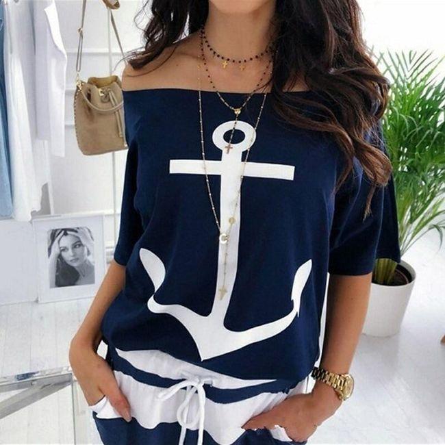 Дамска тениска с къси ръкави Beatha 1