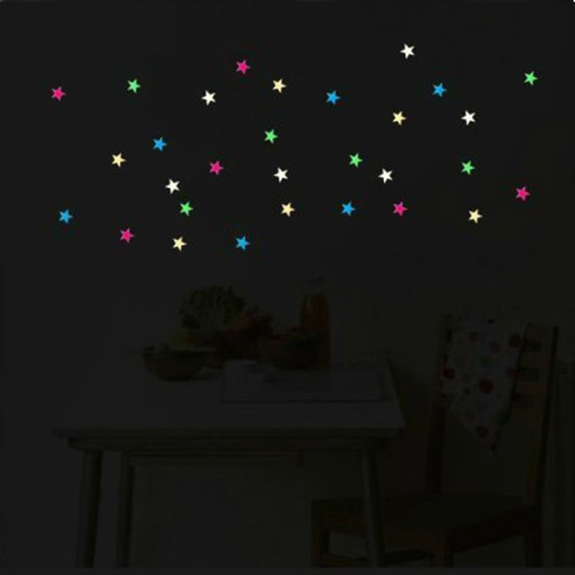 Świecące gwiazdy - 28 sztuk 1