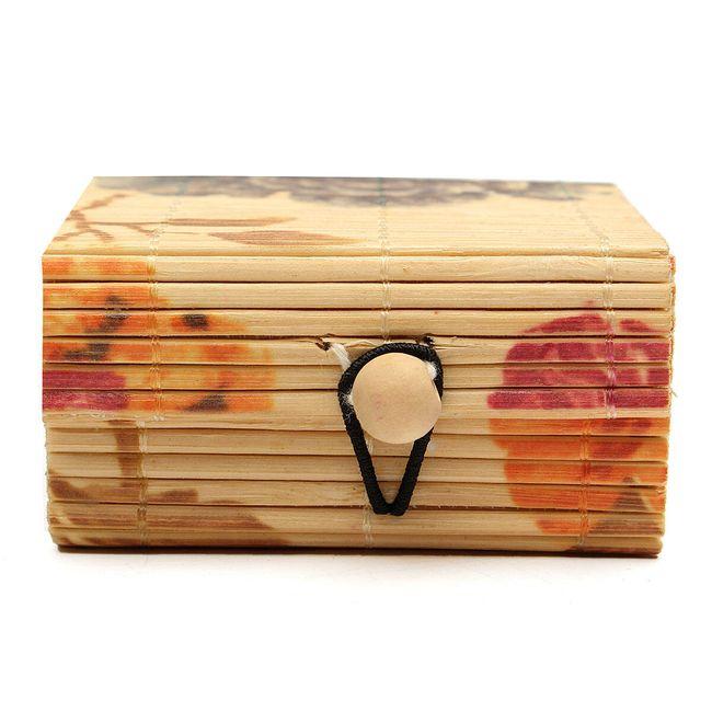 Cutie de bijuterii din lemn de bambus 6