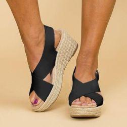 Damskie buty na koturnie Mara