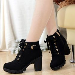 Ženske jesenje cipele na potpeticama - 3 boje