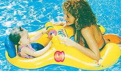 Colac de apă gonflabil pentru mamă și copil KJI4