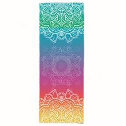 Текстилна постелка за йога с мандала - 4 варианта