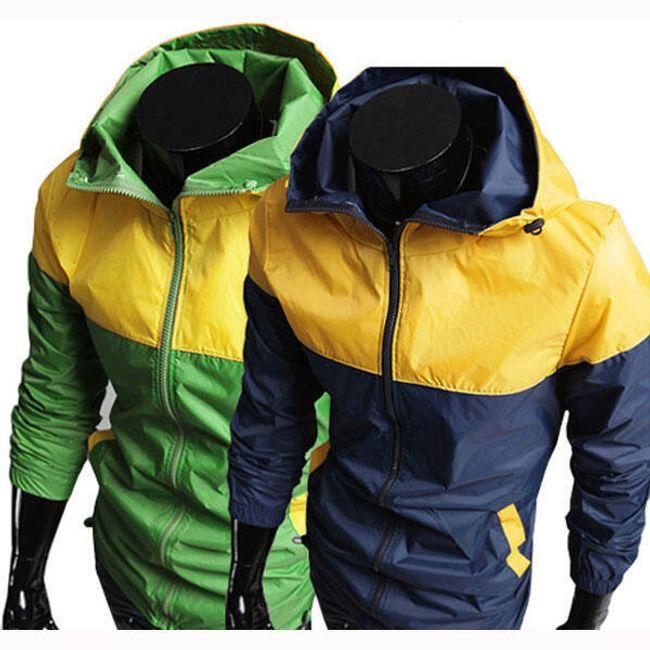 Pánská sportovní bunda - 2 barevné varianty 1