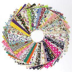 Materiał do patchworku - 50 sztuk