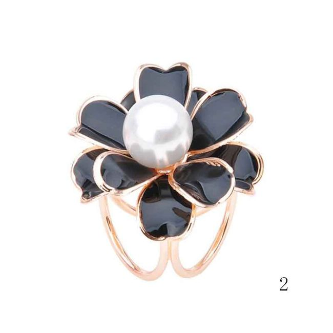 Брошь-кольцо для шарфа- 5 вариантов 1