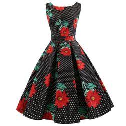 Dámské áčkové šaty Sally