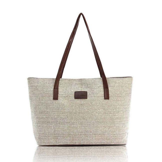 Prostorná kabelka v ležérním stylu - 5 barev 1