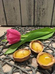 Plutajuće sveće 10 kom od pčelinjeg voska