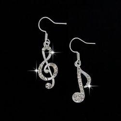 Asszimetrikus fülbevaló a zene szerelmeseinek