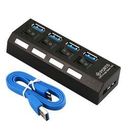 Превключващ USB хъб с четири порта