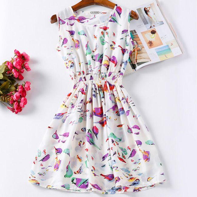 Rozmanité letní šaty - Vzor: 4 - Velikost: 2 1