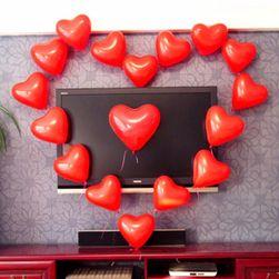 100 komada balona u obliku srca
