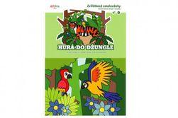 Kolorowanki ze zwierzętami Hura do dżungli 21x15cm  RM_10100520