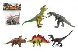 Dinozaur plastikowy 15-18cm 5szt w torbie RM_00850132