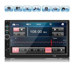 "Autoradio AR08 2DIN 7""LCD Bluetooth, mirror link, 7colored buttons"