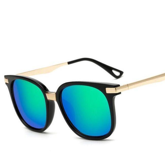 Brýle proti slunci s barevnými čočkami 1