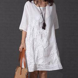 Ženska obleka Leniona Bela - velikost M