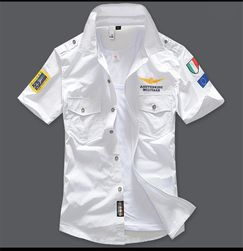 Męska koszula z krótkim rękawem Dionigi