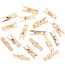 100 drvenih štipaljki za fotografije