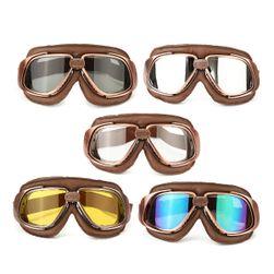 Ochelari pentru motocicliști cu lentile în diverse culori