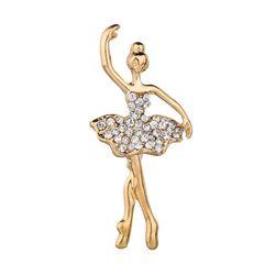 Ženski broš Ballerina