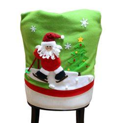 Vánoční potah na židli - 3 varianty