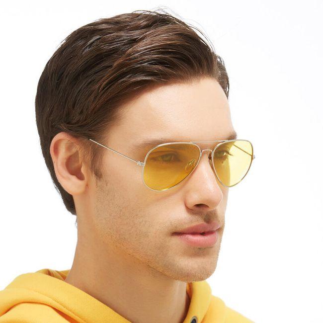 Polarizirana sončna očala v rumeni barvi 1