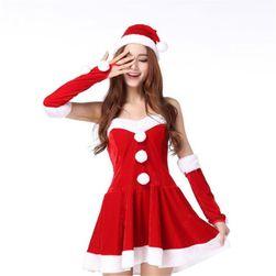 Damska sukienka bożonarodzeniowa Elfie