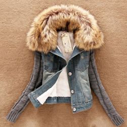 Ženska topla džins jakna Maybelle