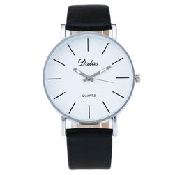 Damski zegarek z dobrze widoczną tarczą - czarny
