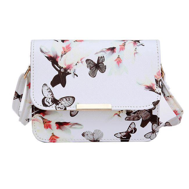 Taška přes rameno s motýly 1