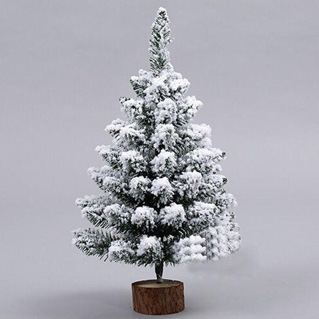 Stromeček s umělým sněhem 1