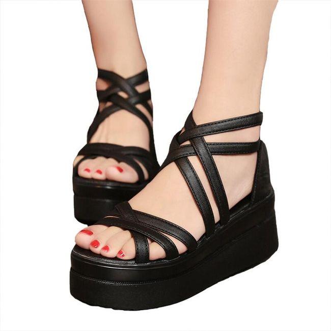 Ženske sandale na platformu Roxarra 1